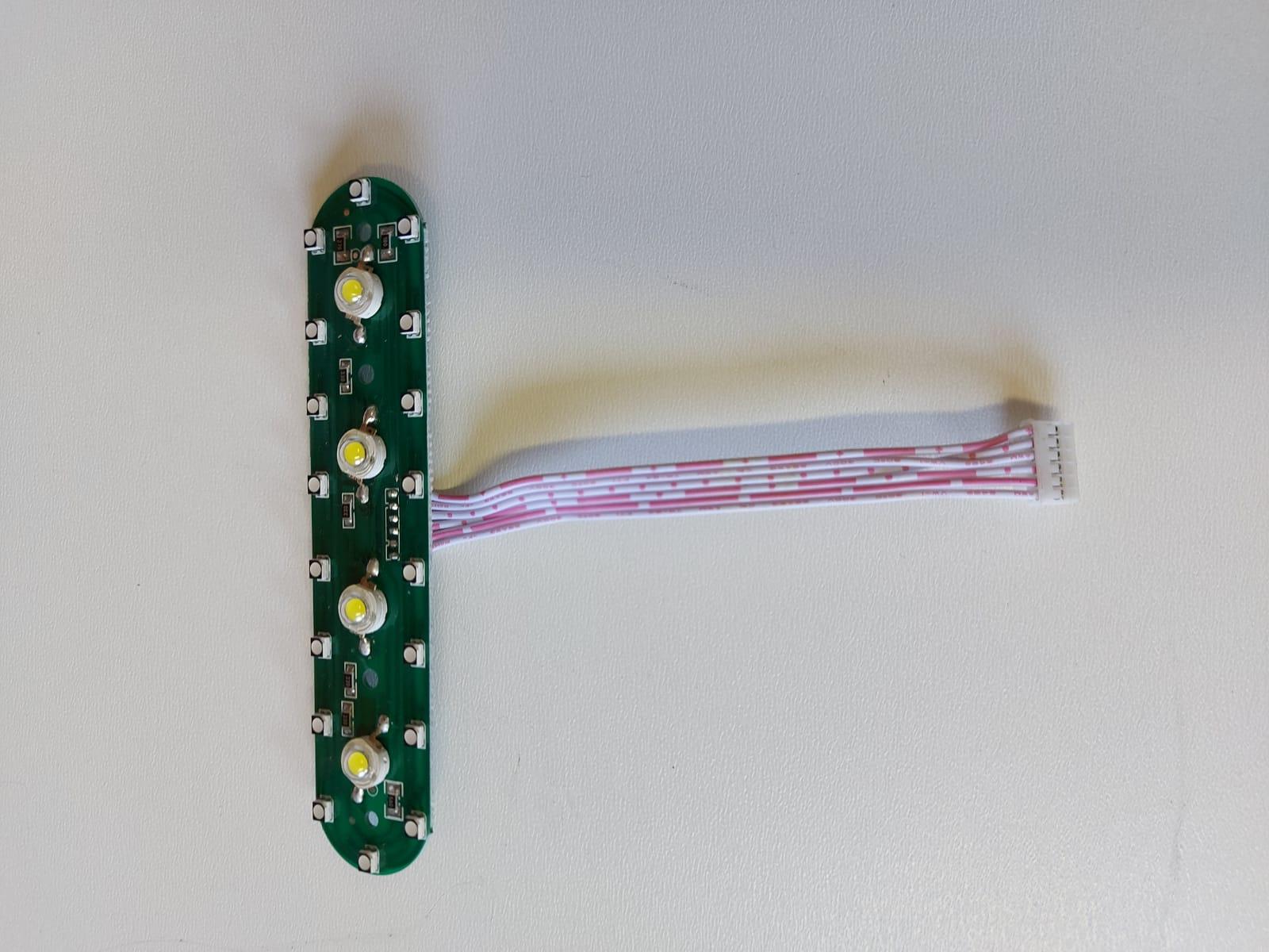 Cory Race - első LED lámpák